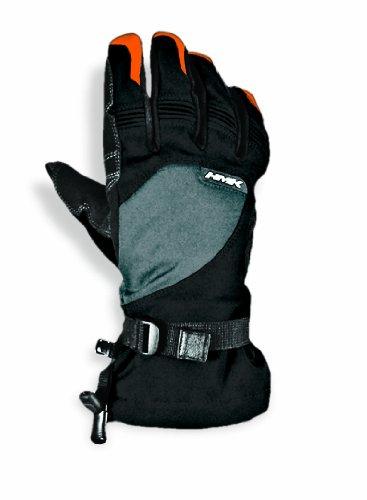 Hmk Long Gauntlet Union Gloves (gray/orange, X-large)