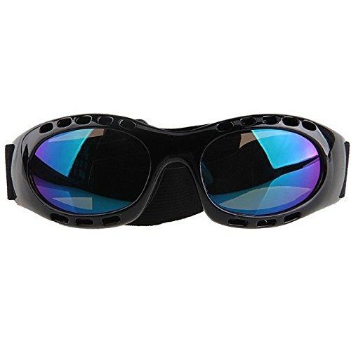 Snowmobile Outdoor Sprots Eyewear Ski Goggles Motorcycle Biker Rider Ani-fog Sunglasses Color Lens