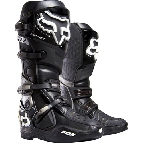 Fox Racing Instinct Men's Motox/off-road/dirt Bike Motorcycle Boots - Black / Size 9