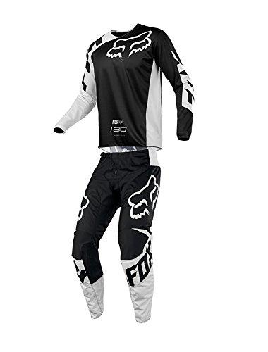 Fox Racing 2018 Youth 180 Race Combo Jersey Pants ATV UTV MX Offroad Dirtbike Motocross Riding Gear Black