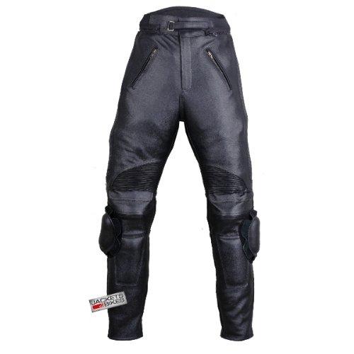 Motorcycle Racing Armor Leather Pants W/ Slider 36w 30i