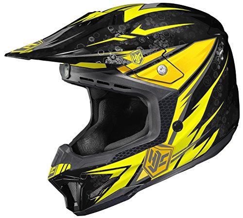 HJC CL-X7 Pop N Lock Off-Road Motocross Helmet MC-3 X-Large