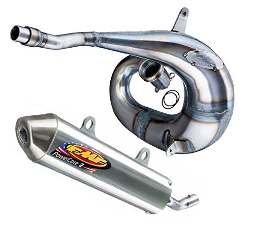 FMF Exhaust System - Factory Fatty Pipe PowerCore 2 Silencer - Husqvarna TCTE 250300 KTM 250300 11-16