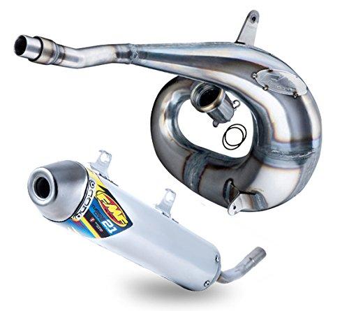 FMF Exhaust System - Factory Fatty Pipe TurbineCore 21 SA Silencer - Yamaha YZ250X 2016-2018 _024056024067