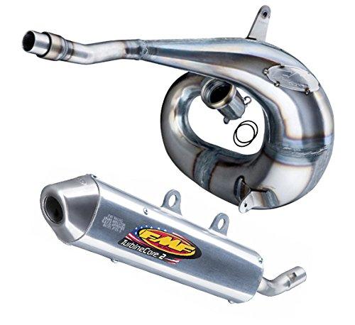 FMF Exhaust System - Factory Fatty Pipe TurbineCore 2 SA Silencer - Husqvanra TCTE 250300 KTM 250300 11-16