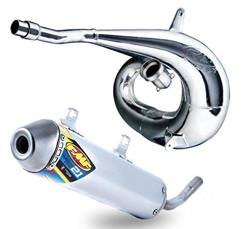 FMF Exhaust System - Gnarly Pipe TurbineCore 21 SA Silencer - Yamaha YZ250X 2016-2018 _024054024067