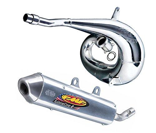 FMF Exhaust System - Gnarly Pipe TurbineCore 2 SA Silencer - Yamaha YZ250 1999 _024054020361