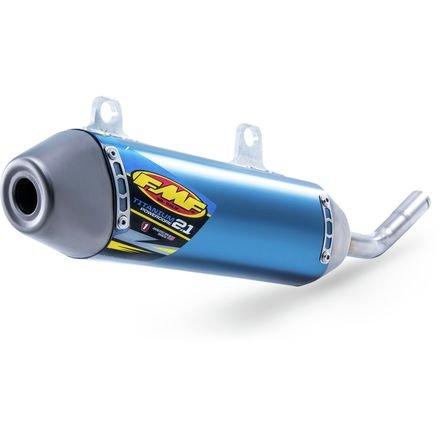 FMF Racing 25209 PowerCore 21 Silencer - Titanium