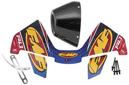 FMF Racing Dual RCT End Cap Kit - Left - Carbon Fiber 040679