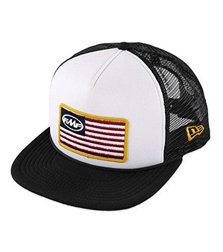 FMF Racing F35196109-WHT Stars and Bars Snapback Hat Gender MensUnisex Primary Color White Size OSFM Distinct Name White