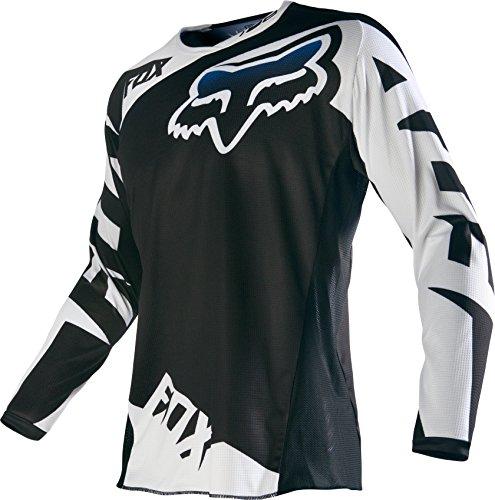 Fox Racing 2016 180 Race Mens Dirt Bike Motorcycle Jerseys - Black  Medium