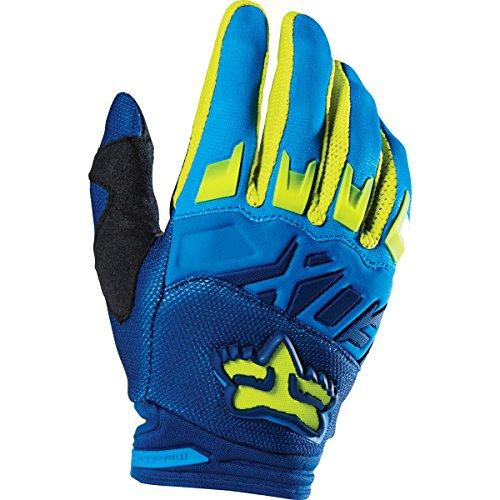 Fox Racing 2016 Dirtpaw Race Mens MotoX Motorcycle Gloves - BlueYellow  Medium