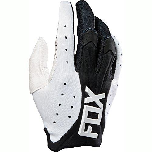 Fox Racing 2016 Flexair Race Mens MotoX Motorcycle Gloves - White  X-Large