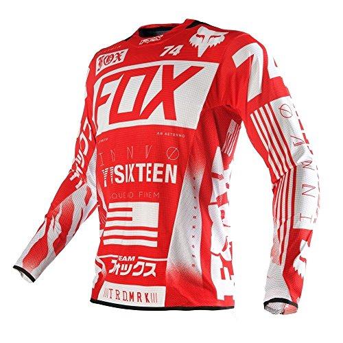 Fox Racing 2016 Flexair Union Jersey Red Size 2X 15756-003-2X