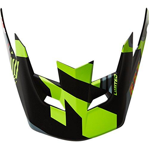 Fox Racing 2016 Mens Rampage Pro Carbon Visor - 04119 Grey