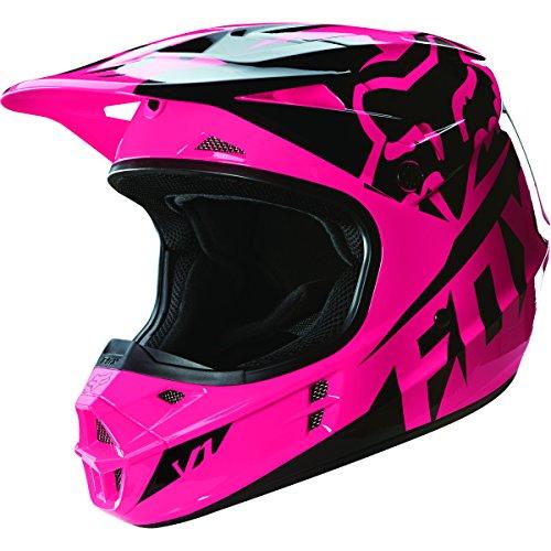 Fox Racing 2016 Race Mens V1 Motocross Motorcycle Helmet - Pink  X-Large