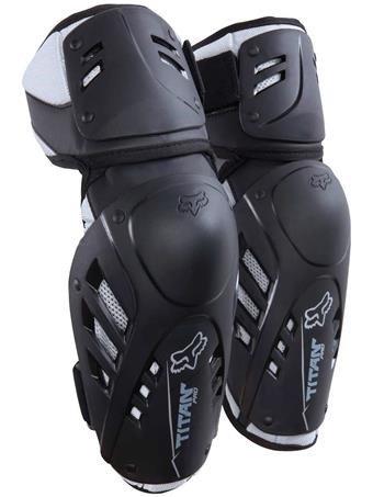 Fox Racing 2016 Titan Pro Adult Elbow Guard MotoX Motorcycle Body Armor - Black  SmallMedium