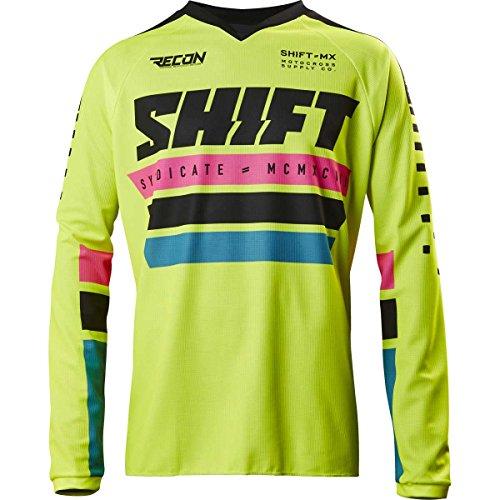 2017 Shift Recon Phoenix Jersey-Flo Yellow-L