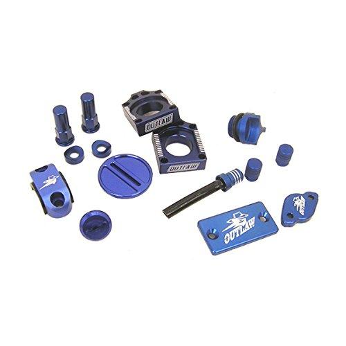 Outlaw Racing KIT25BU Complete Billet MX Motocross Kit Blue Honda CRF250 2009
