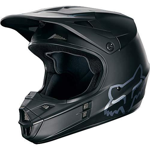 Fox Racing 2016 Matte Mens V1 Motocross Motorcycle Helmet - Matte BlackX-Large