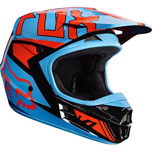 Fox Racing Falcon Adult V1 Motocross Motorcycle Helmets - BlackOrange  X-Large