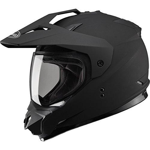 GMAX GM11 DS Solid Mens Motocross Motorcycle Helmet - Flat BlackLarge