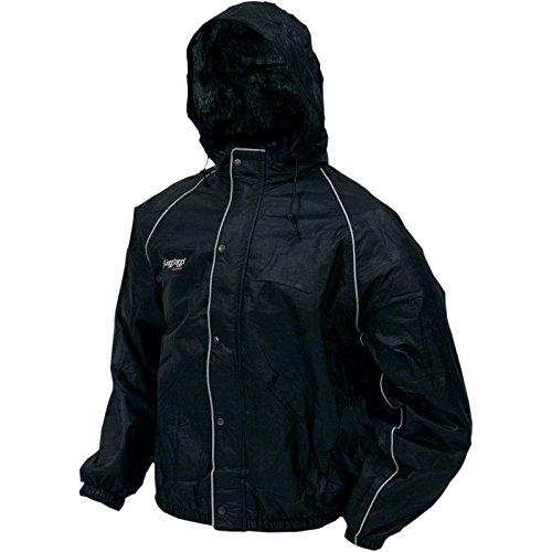 Frogg Toggs Mens Road Toad Rain Jacket Black Coat 3xl Xxxl