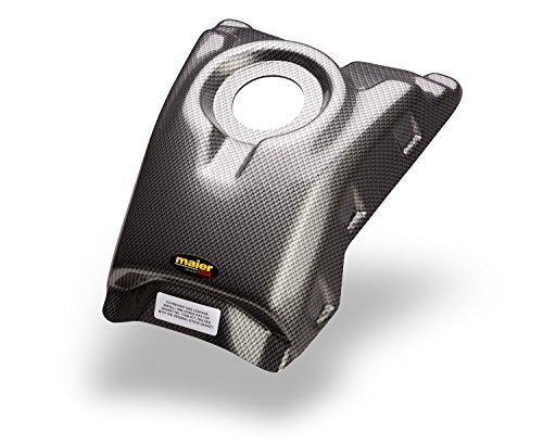 Maier USA 11722-30 TRX250R Gas Tank Cover - Black Carbon Fiber