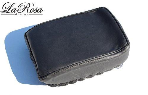 La Rosa Harley-Davidson Universal Black Leather Pillion Pad Passenger Seat