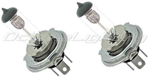 OCTANE LIGHTING 12V 3535W H4 Halogen Headlight Car Motorcycle Headlamp 3-Pin Light Bulbs Pair