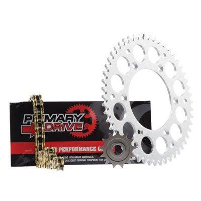 KAWASAKI KX450F 2006–2017 Primary Drive HEAVY DUTY Alloy Sprocket Kit Gold X-Ring Chain