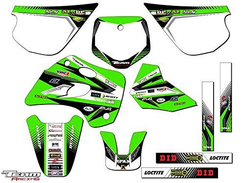 Team Racing Graphics kit for 1994-1997 Kawasaki KX 80 ANALOG Complete Kit