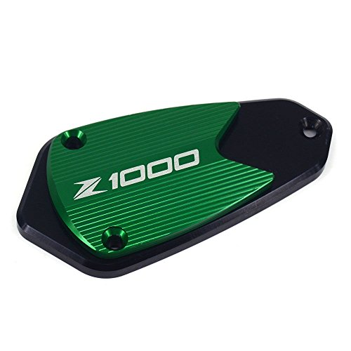 Green Billet Brake Cylinder Reservoir Cover Cap For Kawasaki Z250 Z750R GTR1400 Z1000