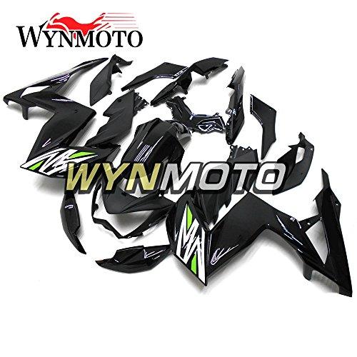 WYNMOTO ABS Injection Plastic Motorcycle Fairing Kit For Kawasaki Z250 Z3 2014 2015 2016 Gloss Black Sportbike Body Frames
