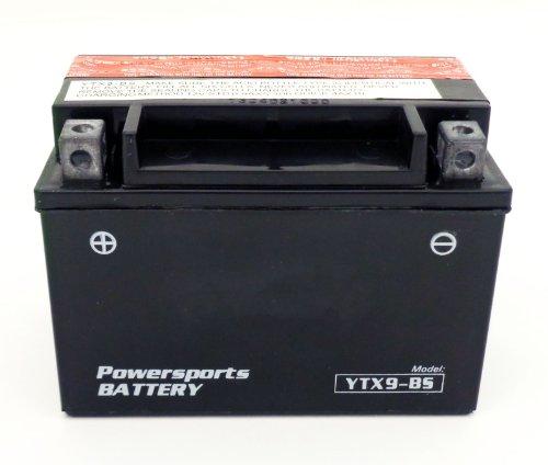 YTX9-BS 12v ATV Battery fits Arctic Cat E-Ton Honda Hyosung Kawasaki KTM Kymco Polaris Suzuki Yamaha