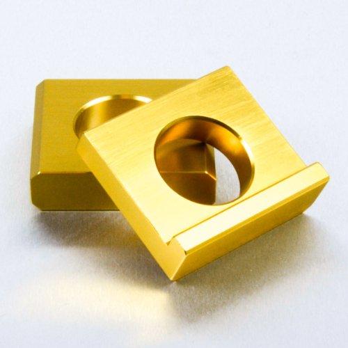 Aluminium Chain Adjuster Blocks R1 04+/fz1 Pair Gold
