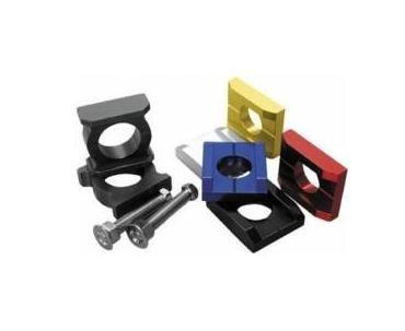 Pro Bolt Chain Adjuster Blocks - Silver Cabprs10-s