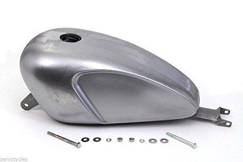 TJTECH Deep Indented 33 GAL Carburetor Fuel Gas Tank For Motorcycle Harley Davidson Sportster 883 1200 XL 2004-2010 Bobber