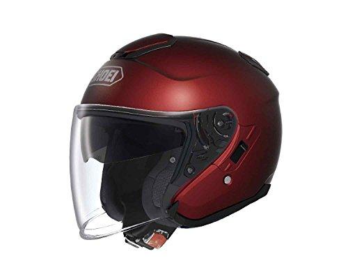 Shoei J-Cruise Wine Red XS 53cm Size Three-quarter Helmet