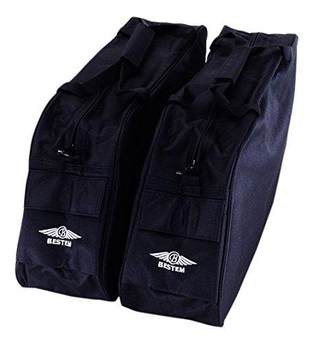 Bestem LGHD-RKCLS-SDL-N Black Road King Saddlebag Side Case Liner Pair Classic Harley Davidson