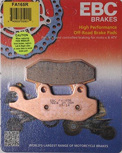 EBC Brake Pads 2014 Kawasaki KRT 800 Teryx4 LE Disc Brake Pad Set FA165R
