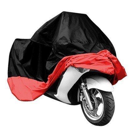 Lyfreen IndoorOutdoor Motorcycle Cover Lifetime Limited Warranty Reflective Waterproof UV Protection Heat - Moisture Guard Vent Sportbike XXXL