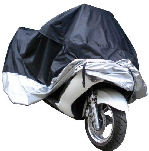 Motorcycle Cover Waterproof Dustproof UV Protective Breathable Indoor Outdoor Motorbike Cover-XL