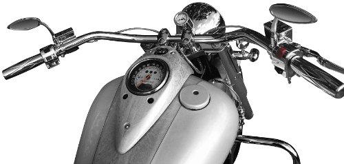 Baron Custom Accessories Big Johnson Handlebar for 1982-2007 Harley Davidson Touring Models - Color  Chrome