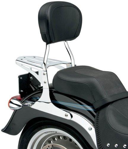 Cobra Round Sissy Bars for 2004-2011 Harley Davidson Sportsters - Short