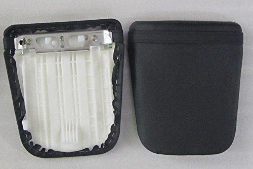 Sunny Black Leather Rear Pillion Passenger Seat Cover Cowl For HONDA CBR 600 03-06