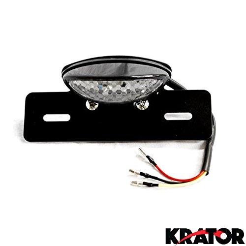 Krator Custom LED License Plate Taillight Brake Light For Suzuki V-Strom SV650 SV1000 TL1000 R S