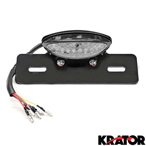 Krator Custom LED License Plate Taillight Turn Signals For Suzuki V-Strom SV650 SV1000 TL1000 R S