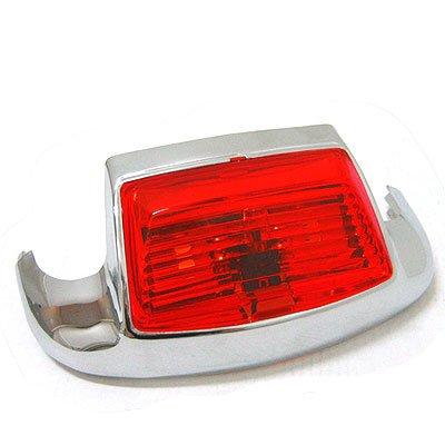 BKrider Front Fender Trim Light with Red Lens for Harley-Davidson OEM 59082-79