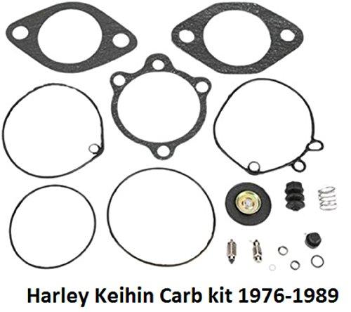 Custom Chrome Keihin Rebuild Kit for Harley-Davidson OEM 27006-76